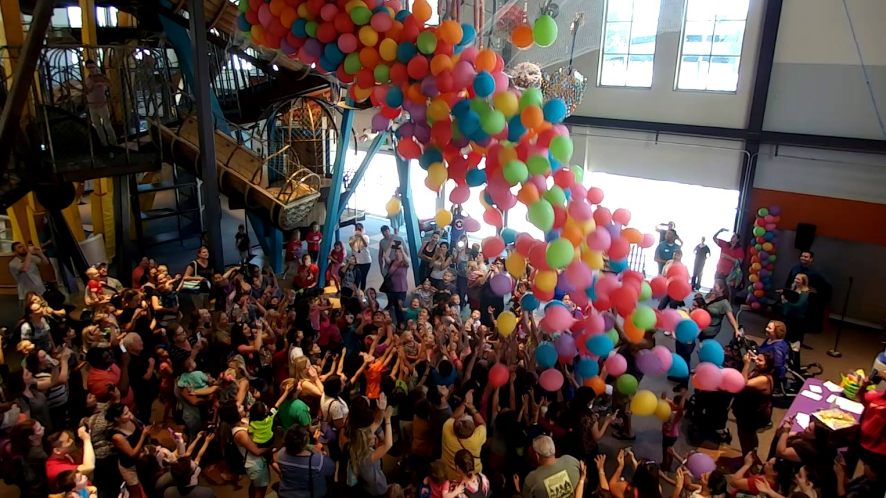 CMoPs 9th Birthday Bash Balloon Drop YouTube