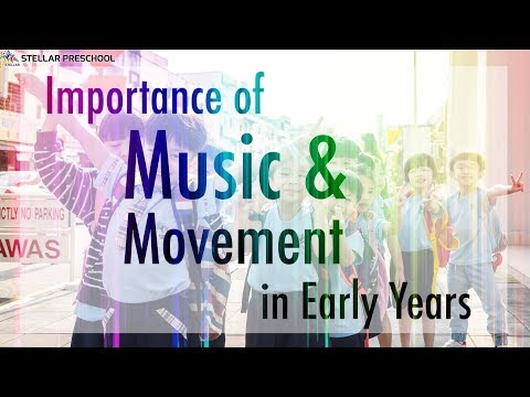 Stellar GIG Episode 14: Importance of Music and Movement in Early Years