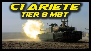 ► Armored Warfare: C1 Ariete Gameplay - Early Access 4 Changes - Tier 8 Italian Main Battle Tank