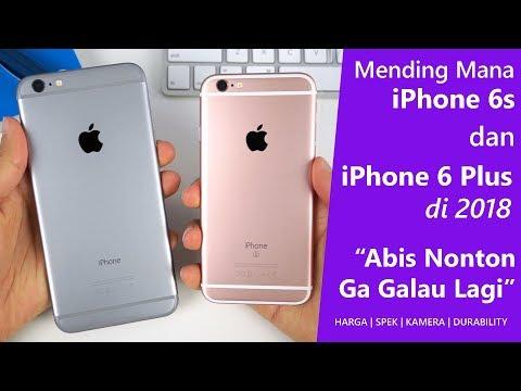 Iphone 6 vs Iphone 6S Perbandingan.