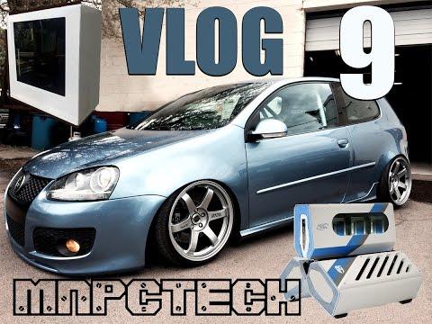 Mnpctech VLOG 9 NZXT Giveaway Deepcool 425hp VW Golf Modsquito Phanteks EVOLV ATX