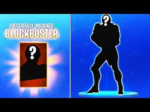 """Concept on How the Secret """"BLOCKBUSTER"""" Skin looks like in Fortnite Battle Royale (SECRET SKIN)"""