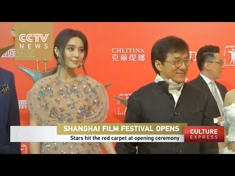 Stars shine over the red carpet at Shanghai Film Festival