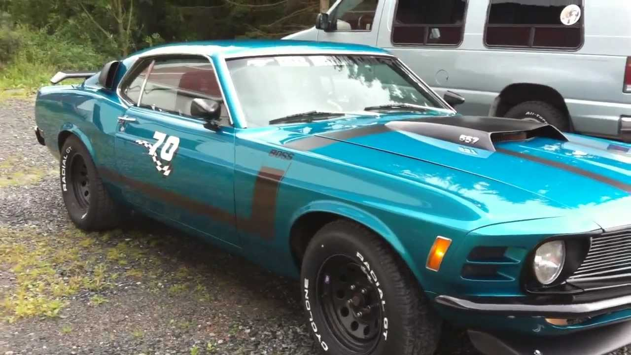 Ford mustang 557 boss