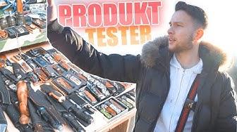 POLEN: PRODUKT-TESTER auf einem bekannten POLENMARKT !.😱| STREET COMEDY | Denizon