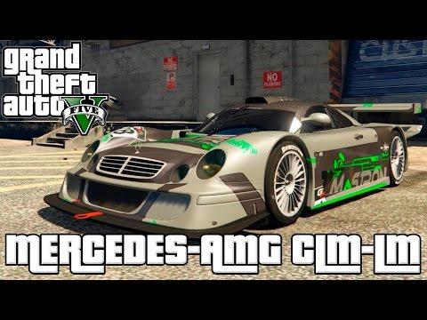 GTA 5 – MERCEDES-AMG CLK LM MOD CARRO DE CORRIDA INCRÍVEL!