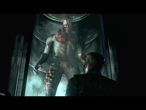 Resident Evil HD Remaster: Tyrant Boss Fight (4K 60fps)