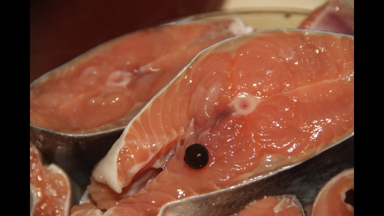 соленая горбуша в рассоле рецепт с фото