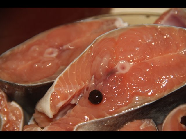Засолка горбуши в рассоле (Самый вкусный рецепт)