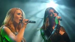 Simone Simons (Epica) feat Floor Jansen (Nightwish)  Sancta Terra Live HD