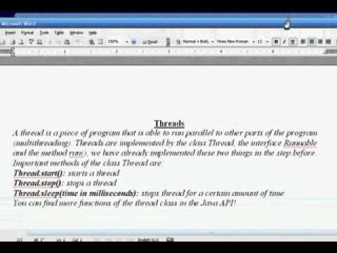 java-eclips-programming-tutorial-5-applet-programming---threads