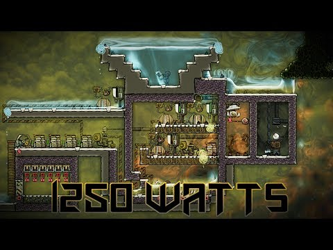 Gas Geyser Power Plant Tutorial and Experiment!  Oxygen Not Included