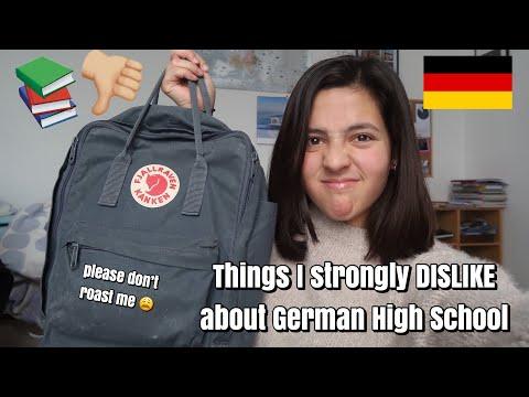Things I DISLIKE about German High School (American Exchange Student)