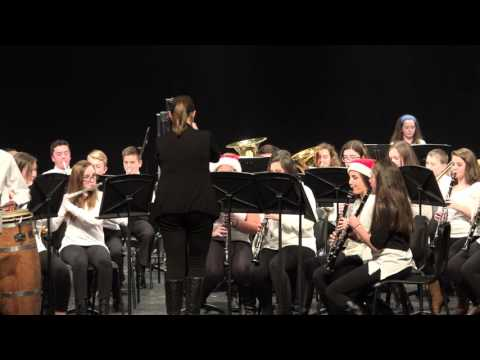 WMS 8th Grade Band  African Bell Carol  1252016