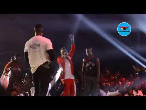 Shatta Wale unites with Wizkid at Ghana Meets Naija 2018