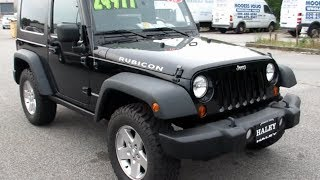 2010 Jeep Wrangler Rubicon 4X4 6-spd Walkaround, Start up, Tour and Overview