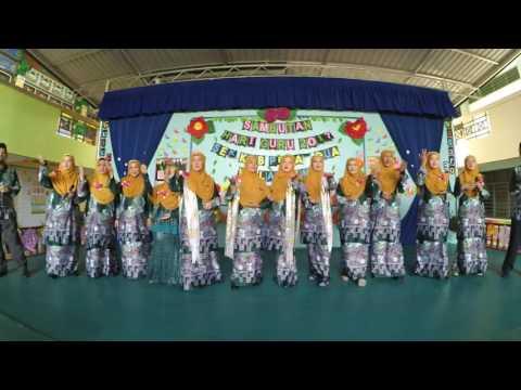 [240517] SAMBUTAN HARI GURU SKPD 2017- NYANYIAN NASYID GURU