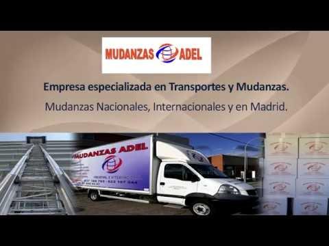 Empresa de mudanzas en Madrid. Transportistas en Madrid. Servicio de ...