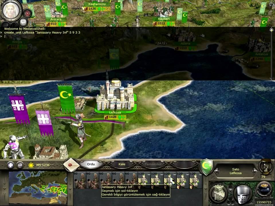 medieval war 2 cheat