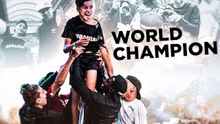 CHAMPION DU MONDE À 15 ANS feat Mehdi Urbanball FC Junior
