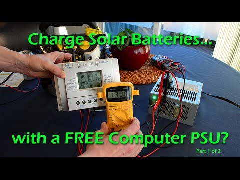 FREE Computer Power Supply (PSU) for Solar Battery Charging: P1