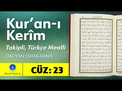 23. Cüz - Takipli Ve Türkçe Mealli (1080p Yeni Video)