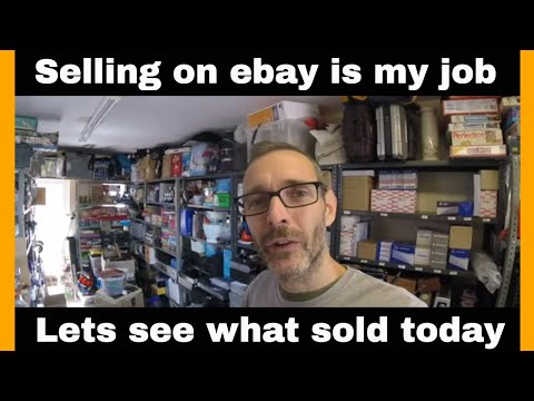 UK ebay reseller - what sold on ebay today.... selling on ebay as a job