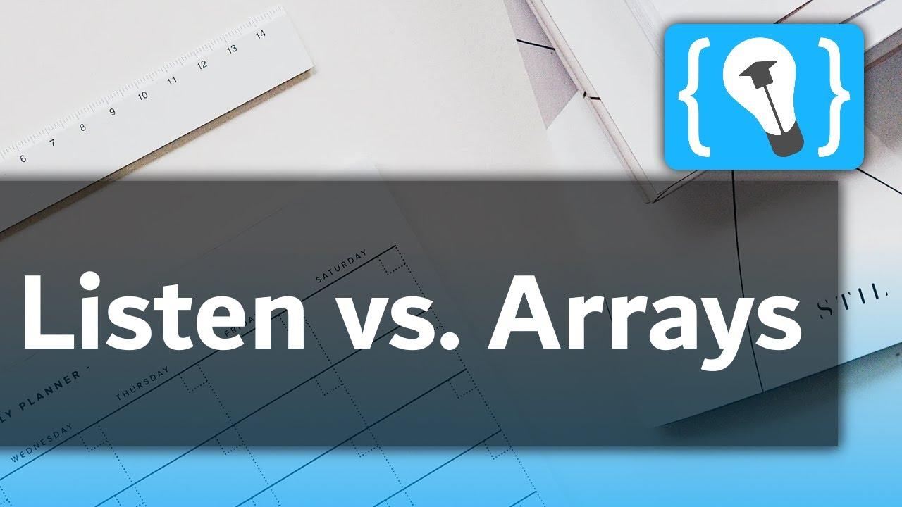 Arrays oder Listen in C#?