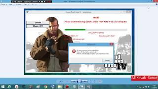 GTA 4 ISDone dll Ve Unarc dll hatası  %99 Oluyor Denemelisiniz...