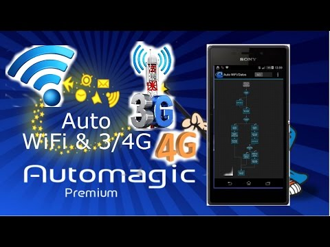 App Automagic - Auto Wifi/Datos