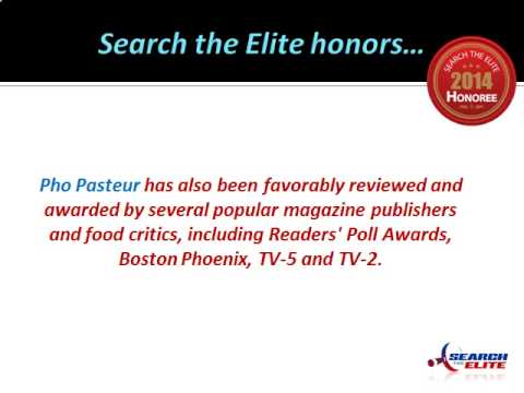 Pho Pasteur Named The Best Vietnamese Restaurant In Boston!