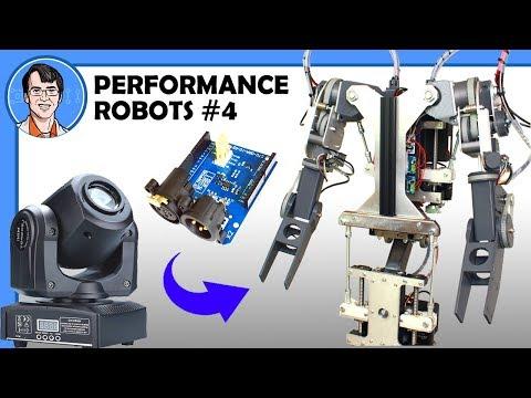 DMX Control for Robot Animatronics?