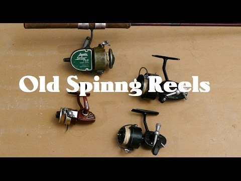 Old Spinning Reels