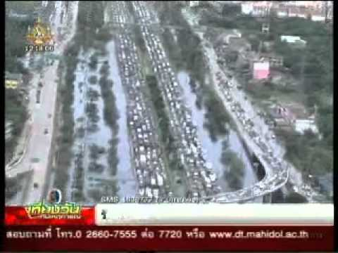 สด การจราจรติดหนักถนนเอเซีย