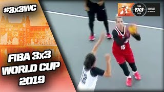 Indonesia v Russia | Women's Full Game | FIBA 3x3 World Cup 2019