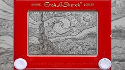 Etch A Sketch Artist Makes Masterpieces On 90's Kids Toy | Localish