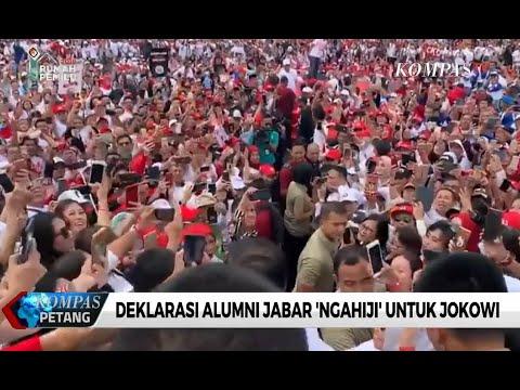 "Alumni Jabar ""Ngahiji"" Deklarasi Dukung Jokowi"