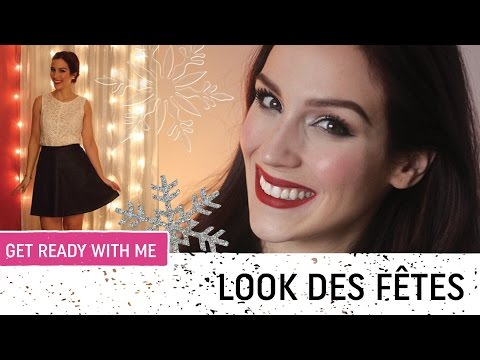 89b562a04e3 Get Ready With Me   Look Noël fêtes 2015
