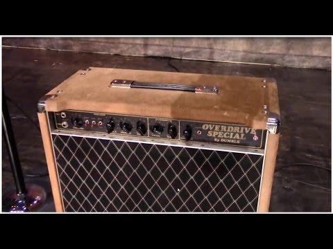 Dumble Overdrive Special Combo Amp Demo by Derek Ferwereda