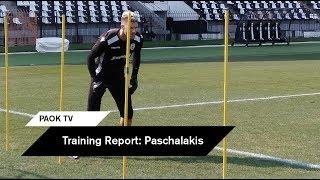 Έπιασε δουλειά ο Πασχαλάκης - PAOK TV