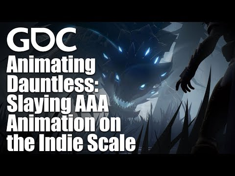 Animating Dauntless: Slaying AAA Animation on the Indie Scale