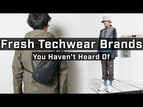 Top 5 Alternative Techwear Brands Ep 5