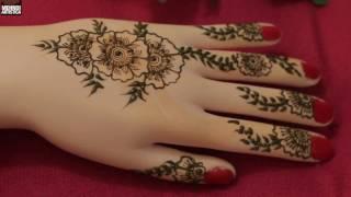 Easy mehndi Class   Floral Hath ki Mehendi Kaise Lagaye :)