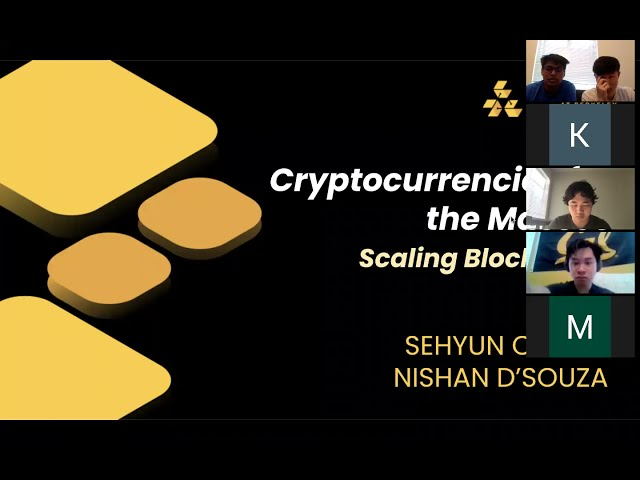 Lecture 8: Scaling Blockchain