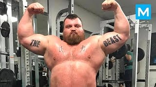 The World's Strongest Man - Eddie Hall | Muscle Madness
