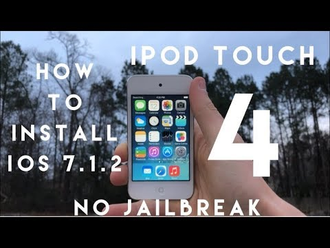 How To Install  IOS 7.1.2 On The IPod Touch 4!
