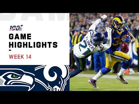 Seahawks Vs. Rams Week 14 Highlights | NFL 2019