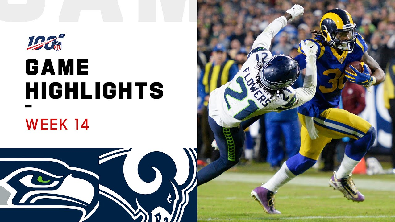 Seahawks Vs Rams Week 14 Highlights Nfl 2019 Youtube