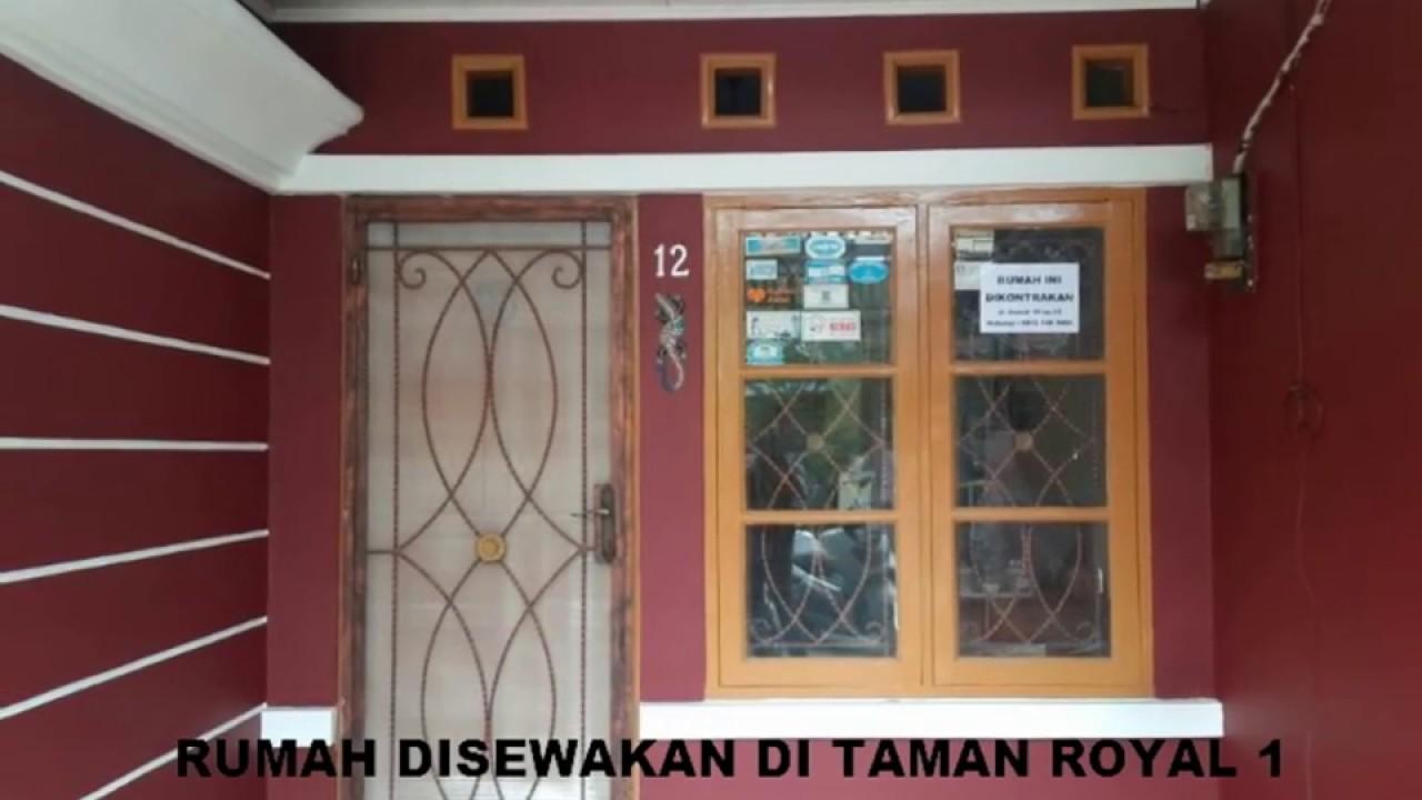 Rumah Disewakan Dikontrakan Di Taman Royal Kota Tangerang YouTube