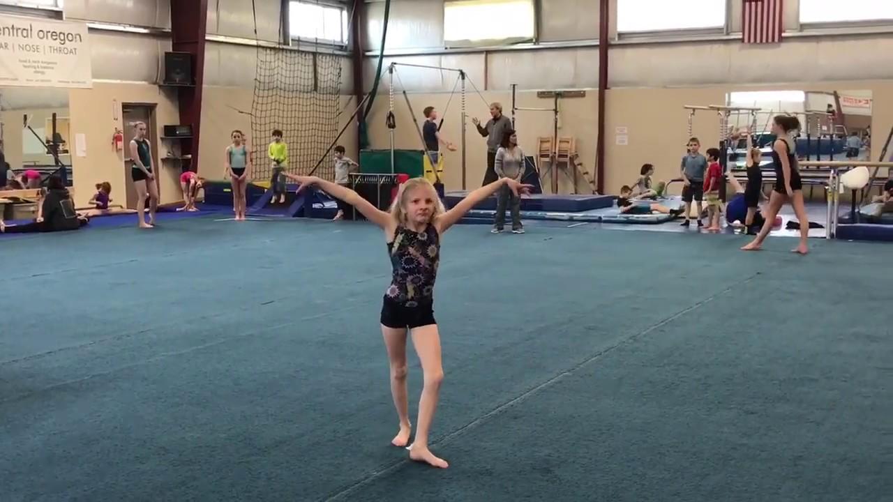 OOA Gymnastics Domino Challenge - YouTube